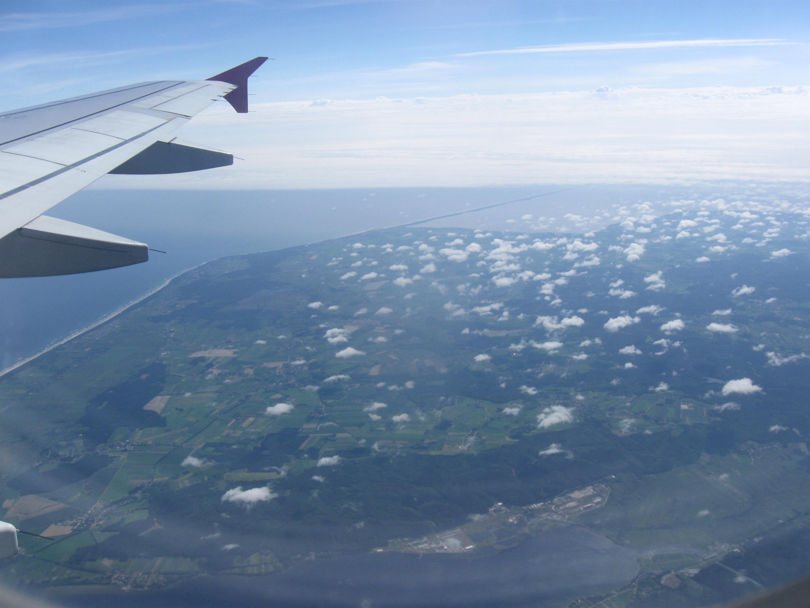 Lentokuva Sanna Tikander