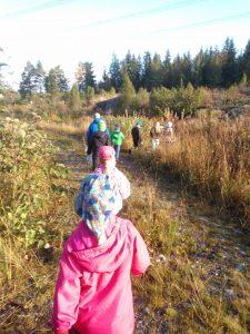 Rikantilan koulu Eurajoki Minna-Mari Kares retkeilijät