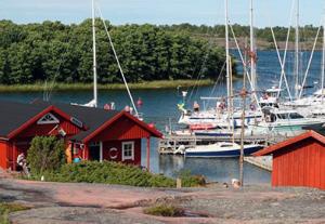 Venesatama Ahvenanmaalla