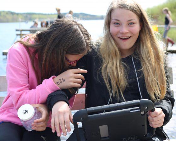 Mobiililaite avuksi koulujen vesitutkimuksiin