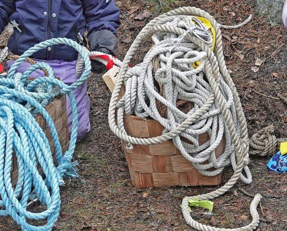 Tarmokas etsintäoperaatio: narut ja köydet