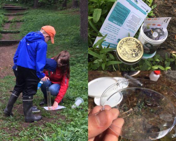 Vattenforskare till skolan – Vesitutkija vieraili kouluissa