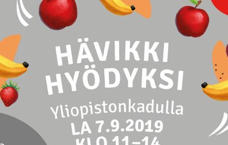 Hävikki hyödyksi -tapahtuma Turussa 7.9.