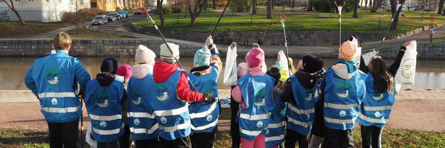 Siisti Biitsi -rantojensiivousohjelma rantautuu kouluihin!