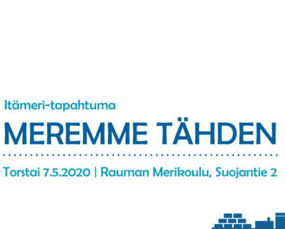 SIIRRETTY ENSI VUOTEEN 2021: Meremme tähden -tapahtuma jälleen 7.5.2020 – aamupäivä koululaisille