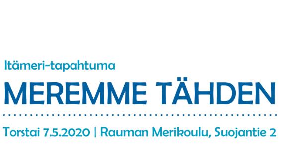 Siirtyy vuodelle 2021: Meremme tähden -tapahtuma 7.5.2020