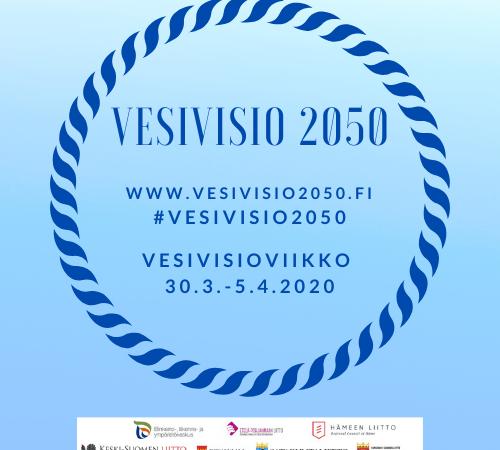 SIIRTYY SYKSYYN: Osallistu vesivisioviikkoon 30.3. – 5.4.2020!