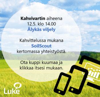 LukeSnapshot -kahvivartti: Älykäs viljely 12.5.