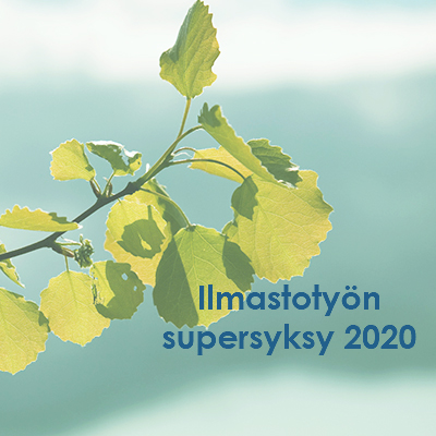 Varsinais-Suomen ilmastotyön supersyksy 2020