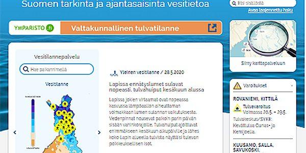 Vesi.fi – tietoa vesitilanteesta