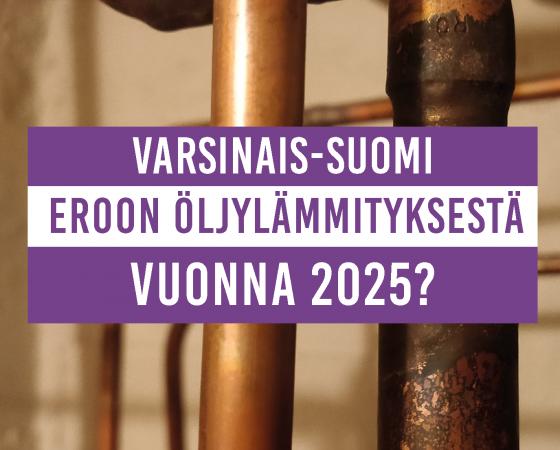 Öljytön lämmitys 2025? – avustukset tehokkaaseen käyttöön -webinaari 9.9.2020