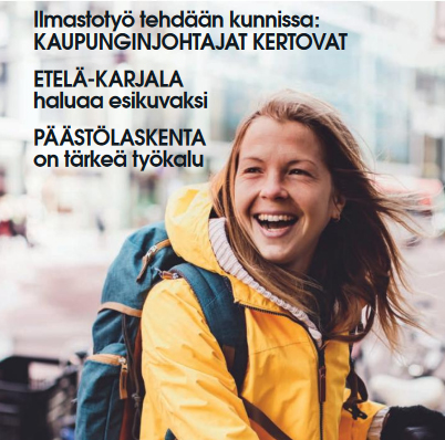 Hiilineutraali Suomi -lehdessä näkymä kuntien ja maakuntien ilmastotyöhön