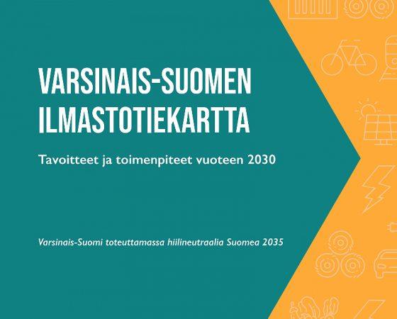 Varsinais-Suomen ilmastotiekartta on valmistunut