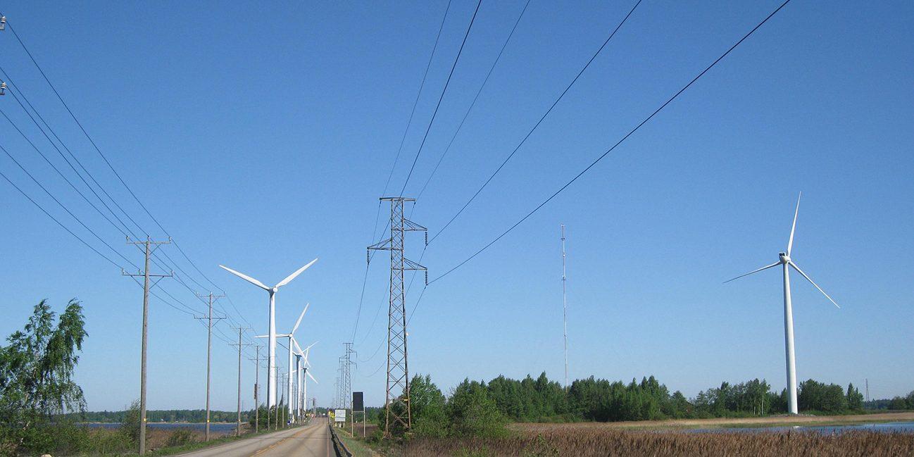 Tuulimyllyjä