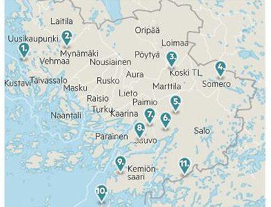 Kriittisyys ajaa tuulivoimatoimijat Varsinais-Suomesta