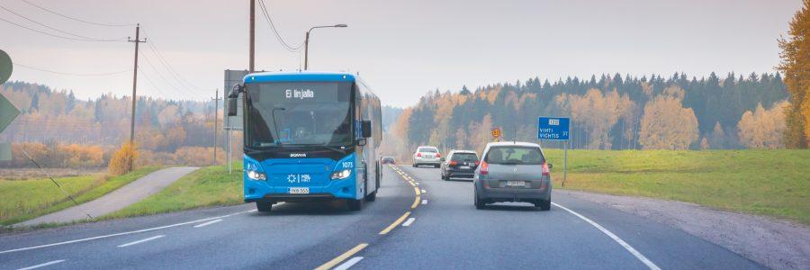 Hallitus päätti tieliikenteen päästöjen vähennyskeinoista